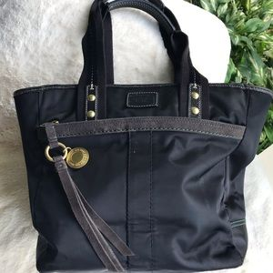 Coach Neoprene and leather handbag